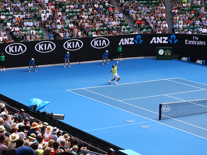 Kia hovedsponsor for Australian Open