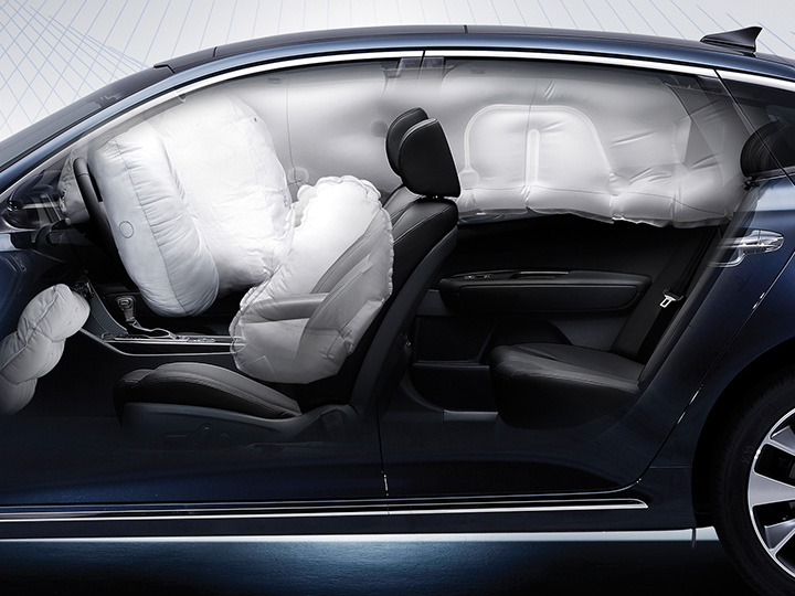 Kia Optima airbag
