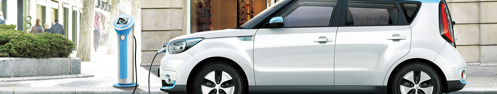 Kia Soul Electric lader