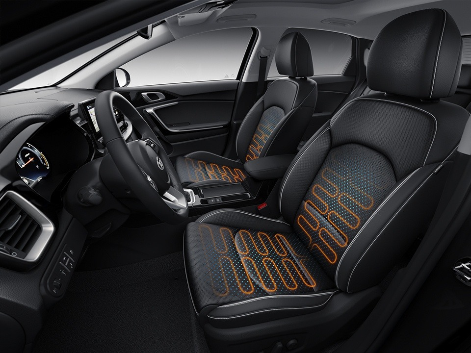 kia ceed sportswagon plug-in hybrid seating comfort