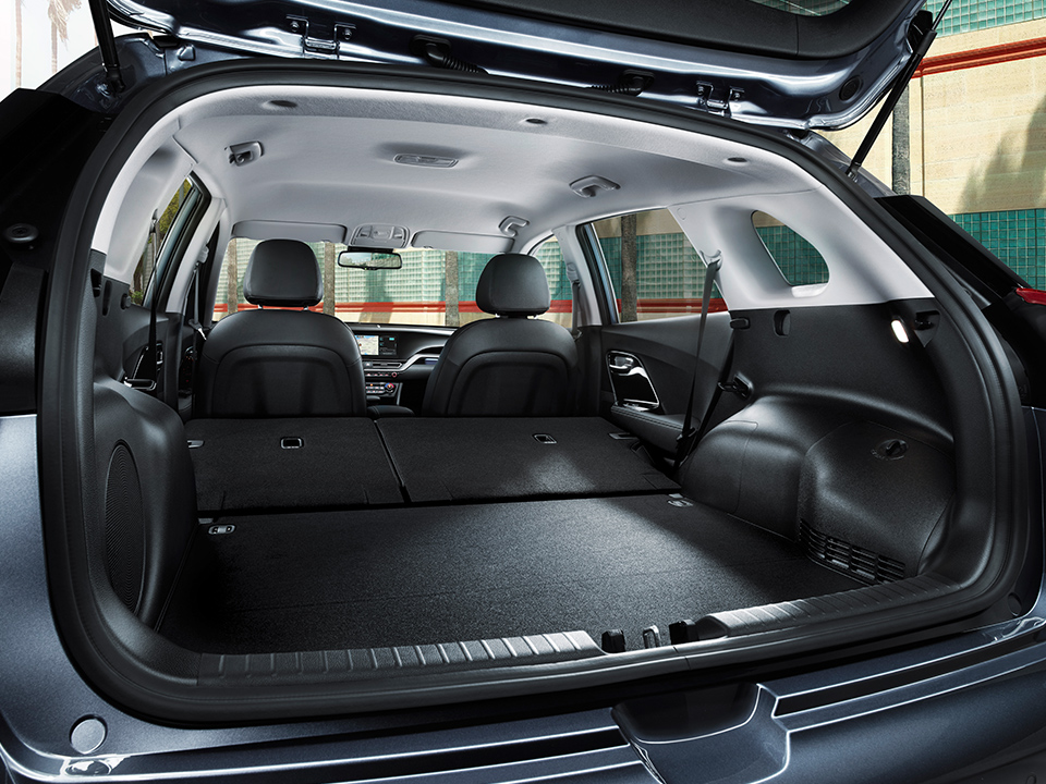 Kia Niro Plug-in Hybrid trunk space