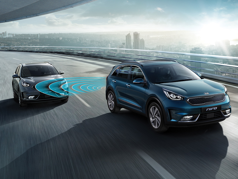 Kia Niro Blindsonevarsler