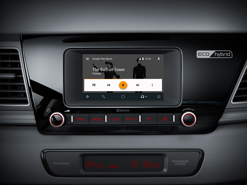 Kia Niro Kia's Connected Services