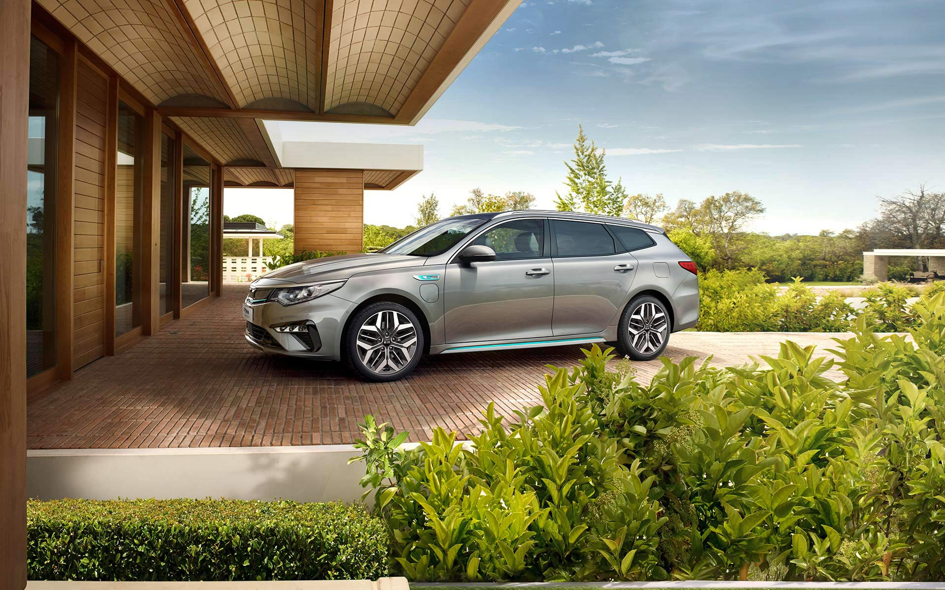 Kia Optima Stasjonsvogn Plug-in Hybrid