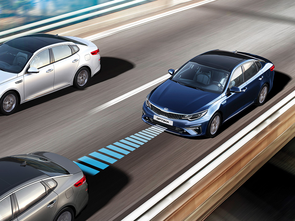 Kia Optima Sportswagon Plug-in Hybrid smart cruise control
