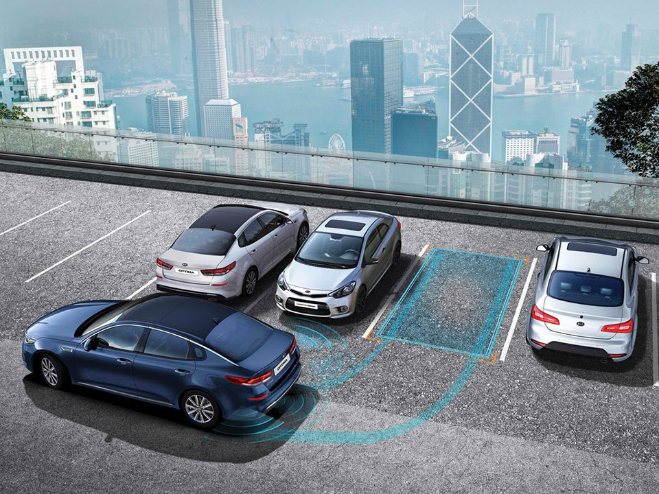 Kia Optima Sportswagon Plug-in Hybrid smart parking assist