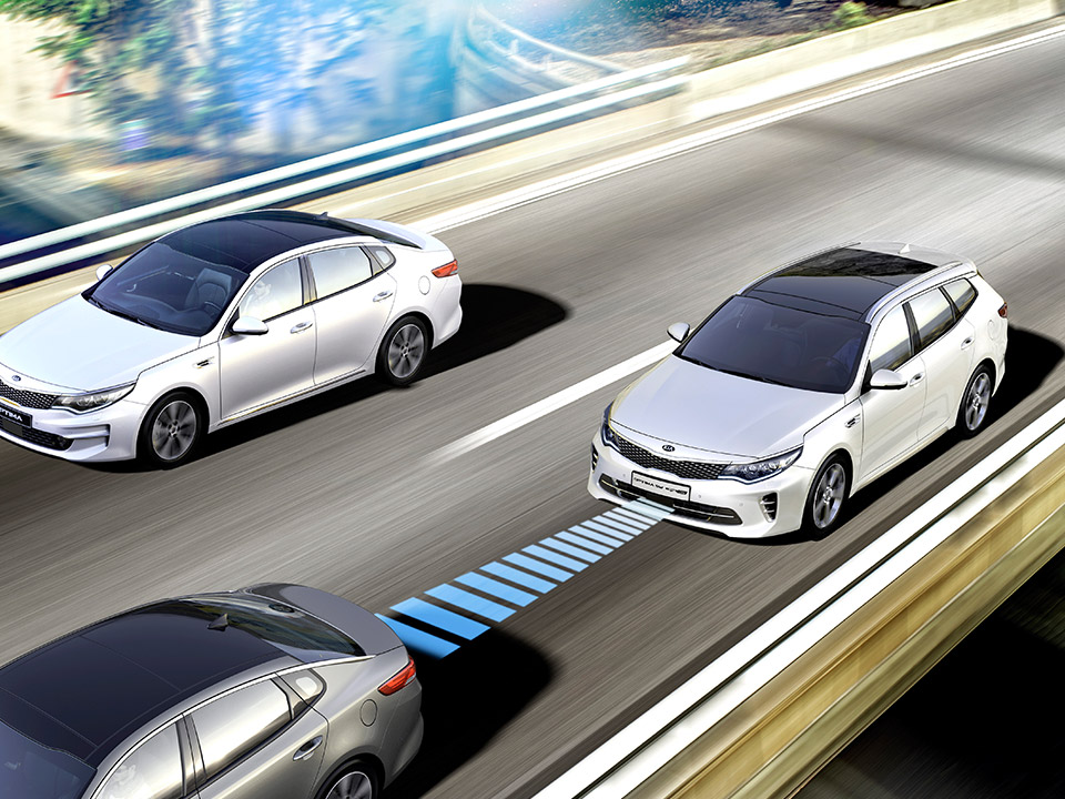 Kia Optima Stasjonsvogn smart cruise control