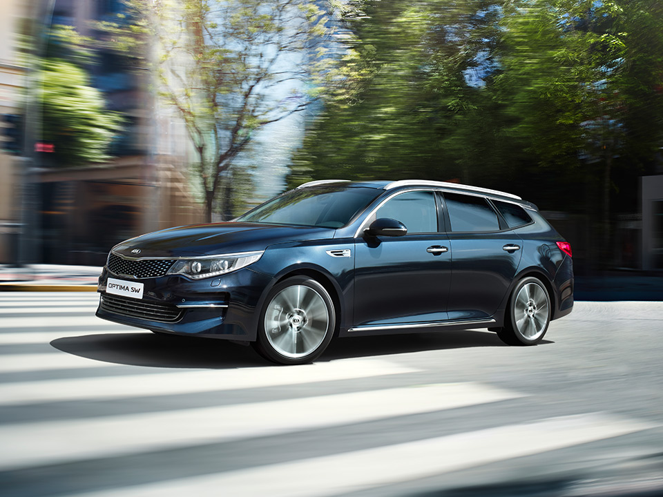 Kia Optima stasjonsvogn innovativt design