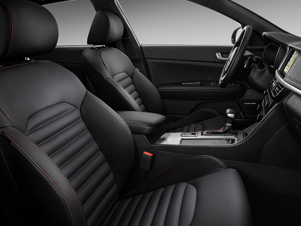 Kia Optima Sportswagon top materials