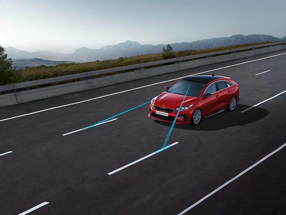 Kia ProCeed Lane Keeping Assist