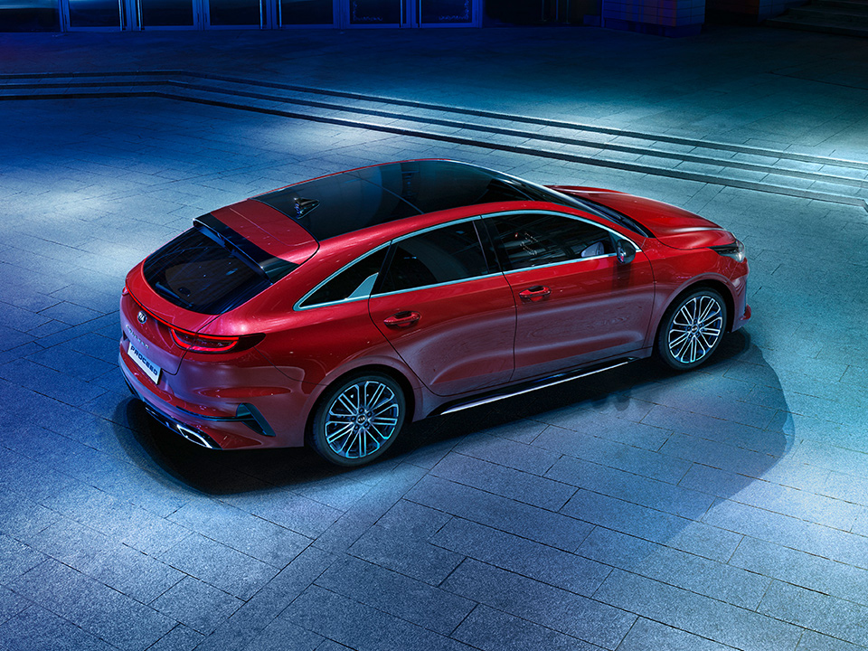 Kia ProCeed shooting brake design