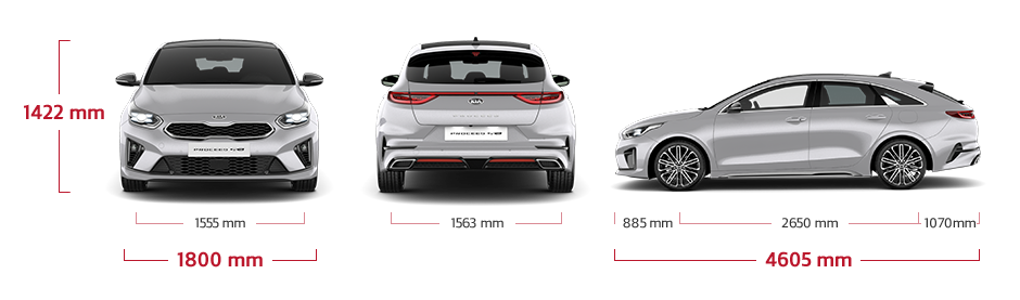 Kia ProCeed tekniske data