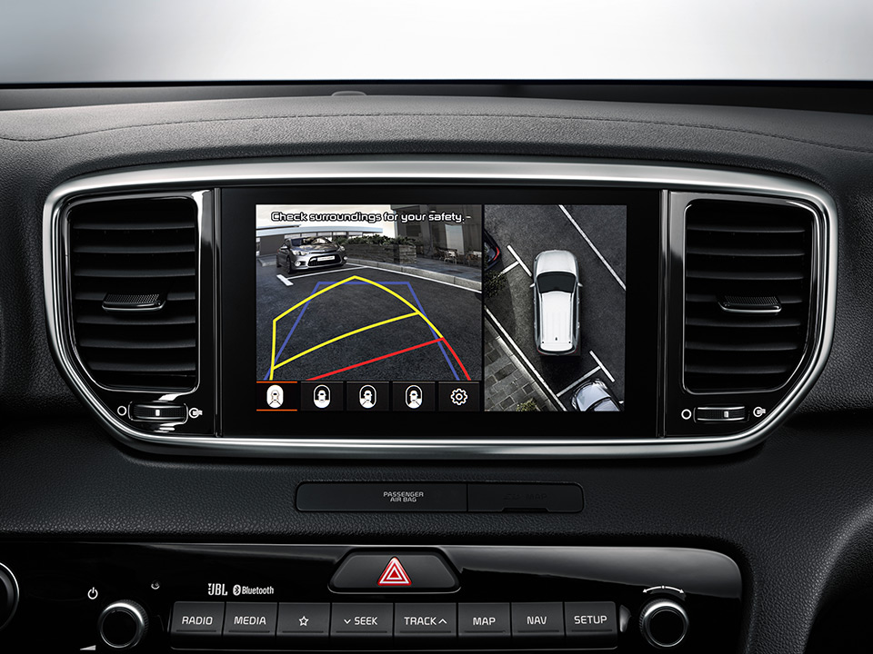 Kia Sportage around view monitor