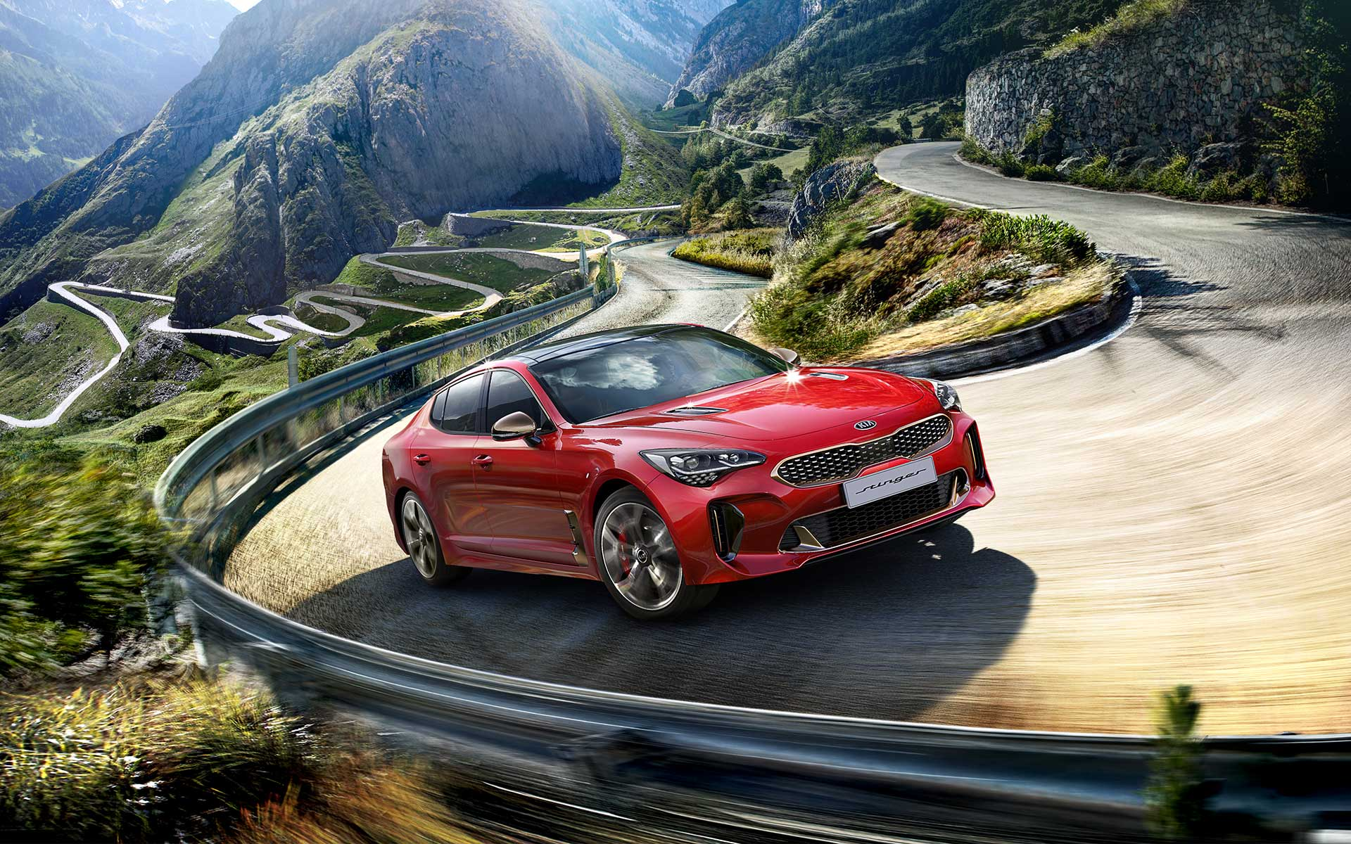 Kia Stinger design