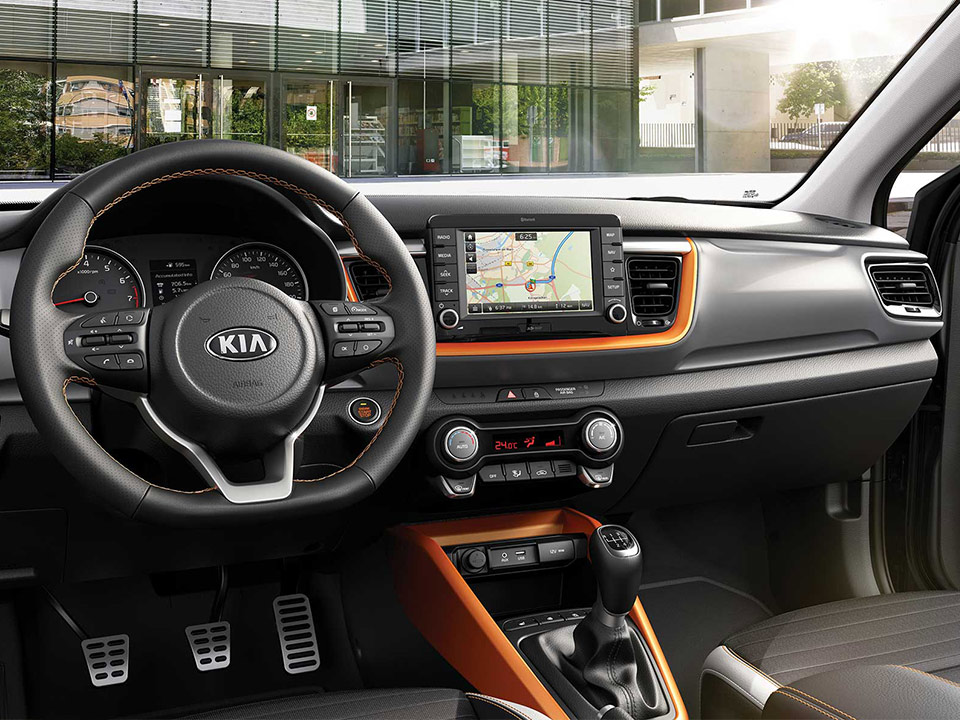 Kia Stonic driver-friendly cabin