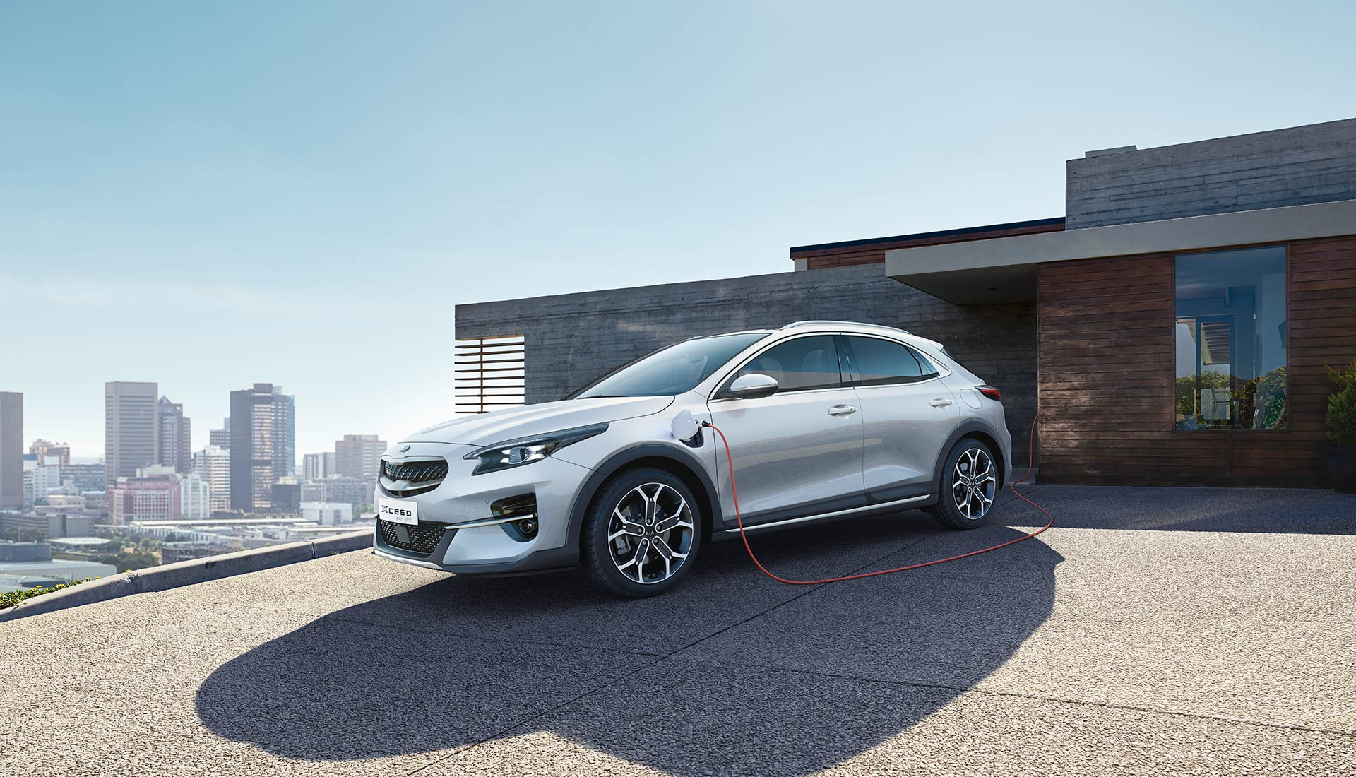 kia xceed plug-in hybrid lading